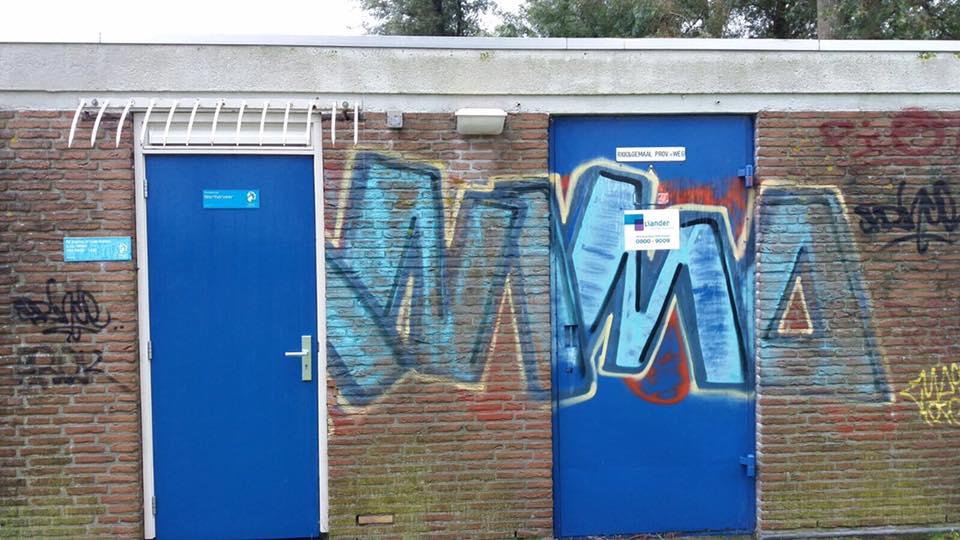 Graffiti (3) voor reiniging